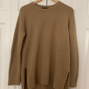 Forever21 Long Nude Sweater